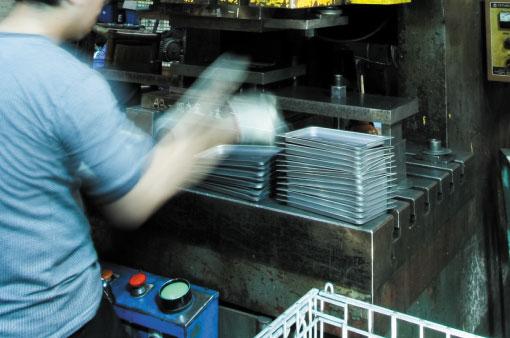 生產製造項目-沖壓件
